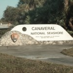 canaveral national seashore sign entrance